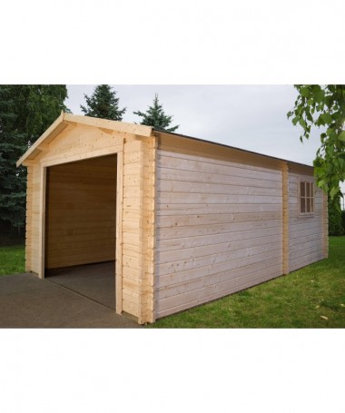 GARAGE BOX AUTO 3054 IN LEGNO DI ABETE