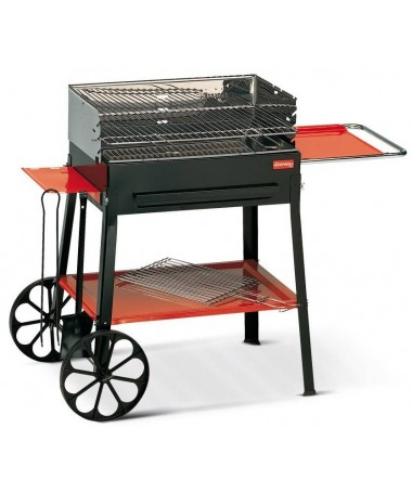 BARBECUE A CARBONELLA IMPERIAL CON 2 ACCESSORI MADE IN ITALY