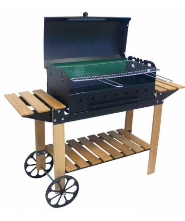 BARBECUE A CARBONELLA MARE LEGNO MADE IN ITALY