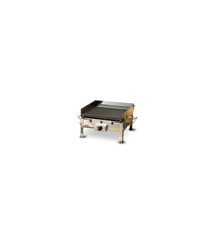 BARBECUE A GAS PLANCHA INOX MADE IN ITALY