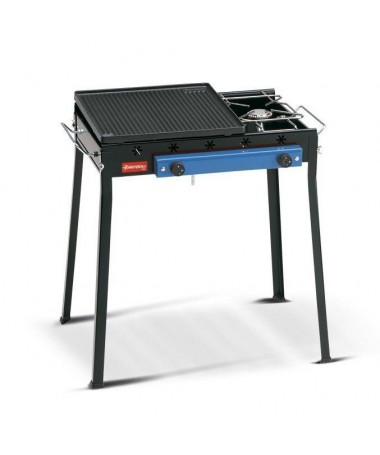 BARBECUE GHISA GAS COMBINATO MADE IN ITALY