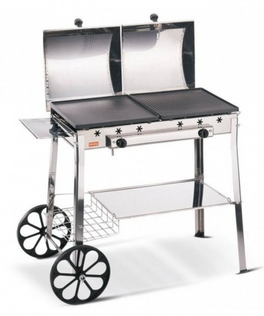 Barbecue Stereo inox Made in Italy