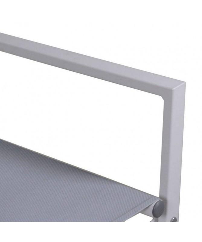 Sedia da regista in alluminio