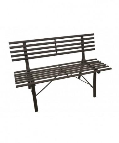 Sedia a dondolo regolabile in legno e tessuto imbottito con poggiapiedi - nero
