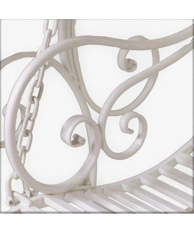 Dondolo da giardino in metallo Viareggio
