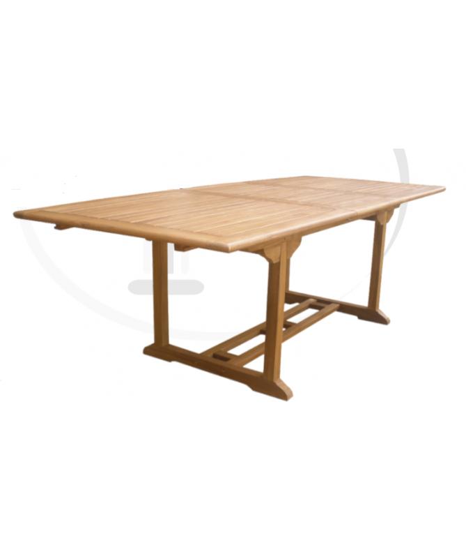Tavolo estensibile in legno Teak - 240 cm