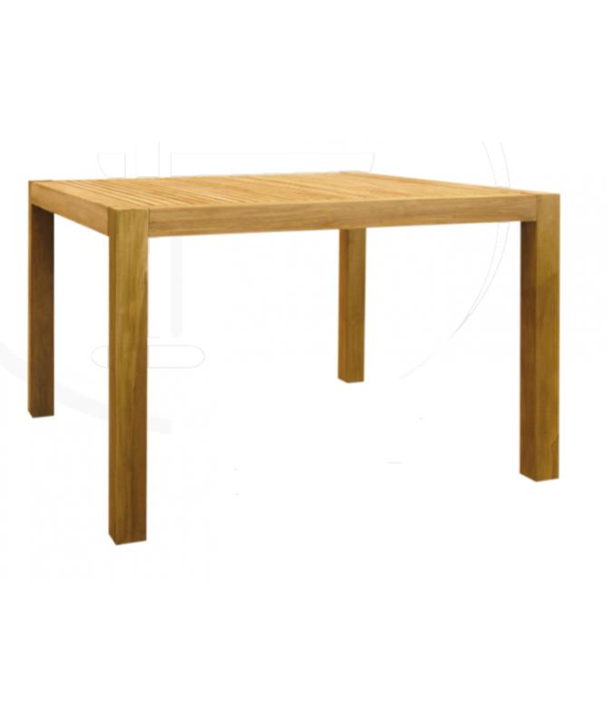 Tavolo Quadrato In Legno Teak 90 Cm Di Preda