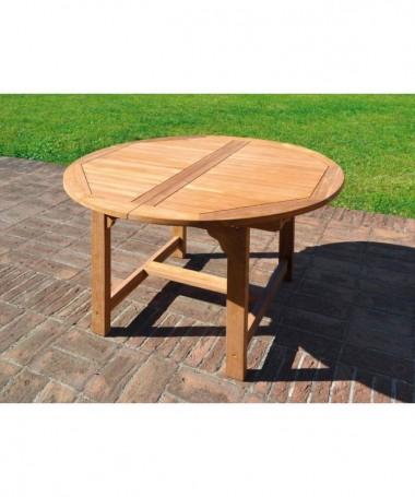 Tavolo Capraia tondo estensibile in legno Teak - 170 cm