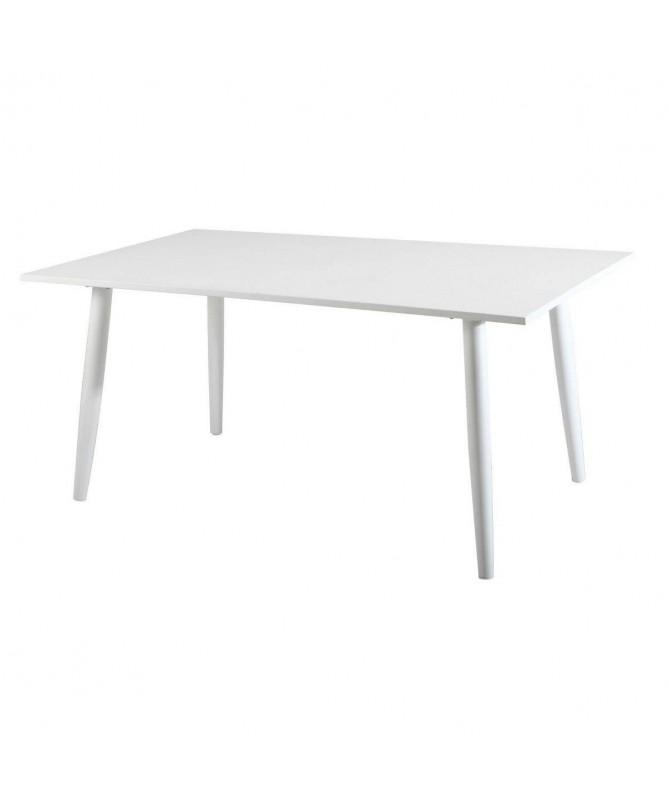 Tavolo Andora in alluminio 160 x 90 cm - bianco