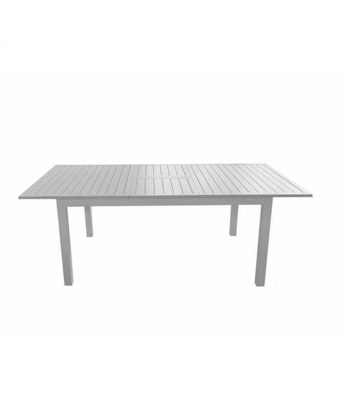 Tavolo San Gimignano allungabile in alluminio - 160/210 x 90 cm