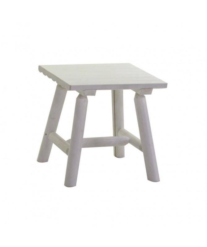 Tavolino da giardino in legno Kyoto - bianco