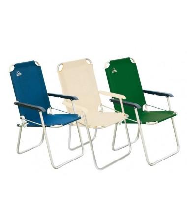 Sedia Relax pieghevole in alluminio - set da 6