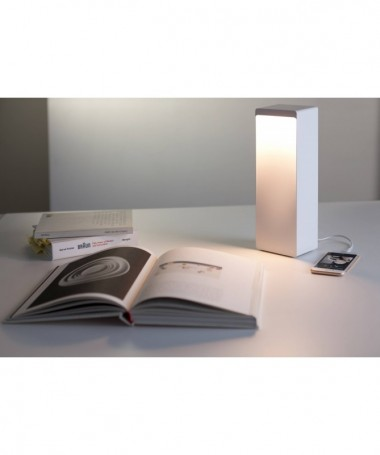 Lampada Cromatica wireless a colori con autoparlante - Made in Italy